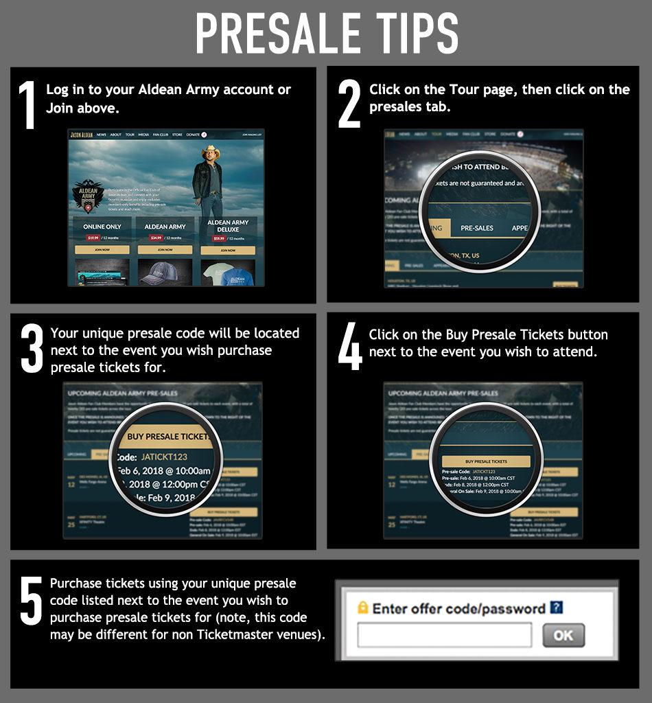 Presale Tips