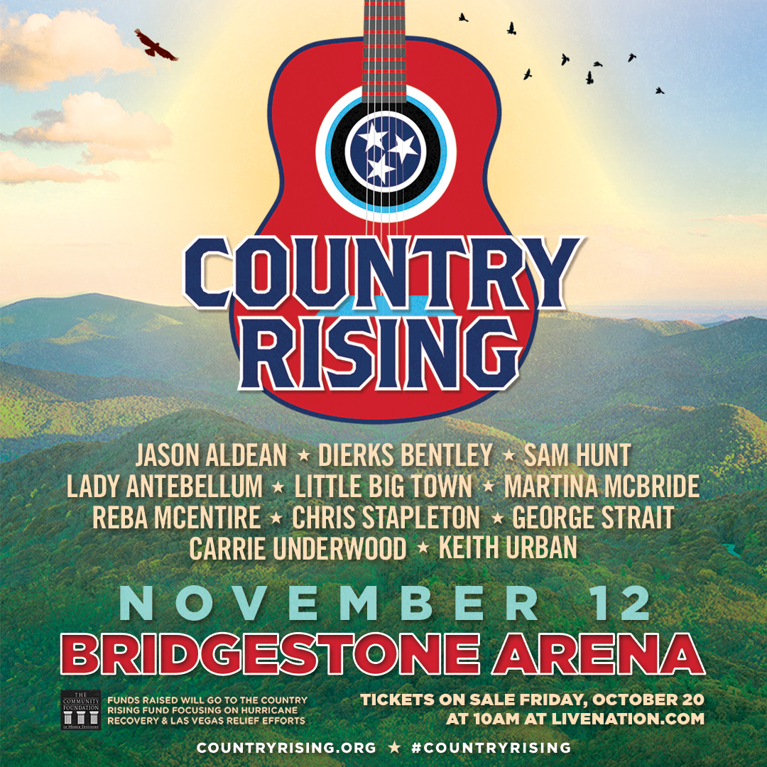 See Jason At Country Rising Benefit Concert Tickets Go On Sale