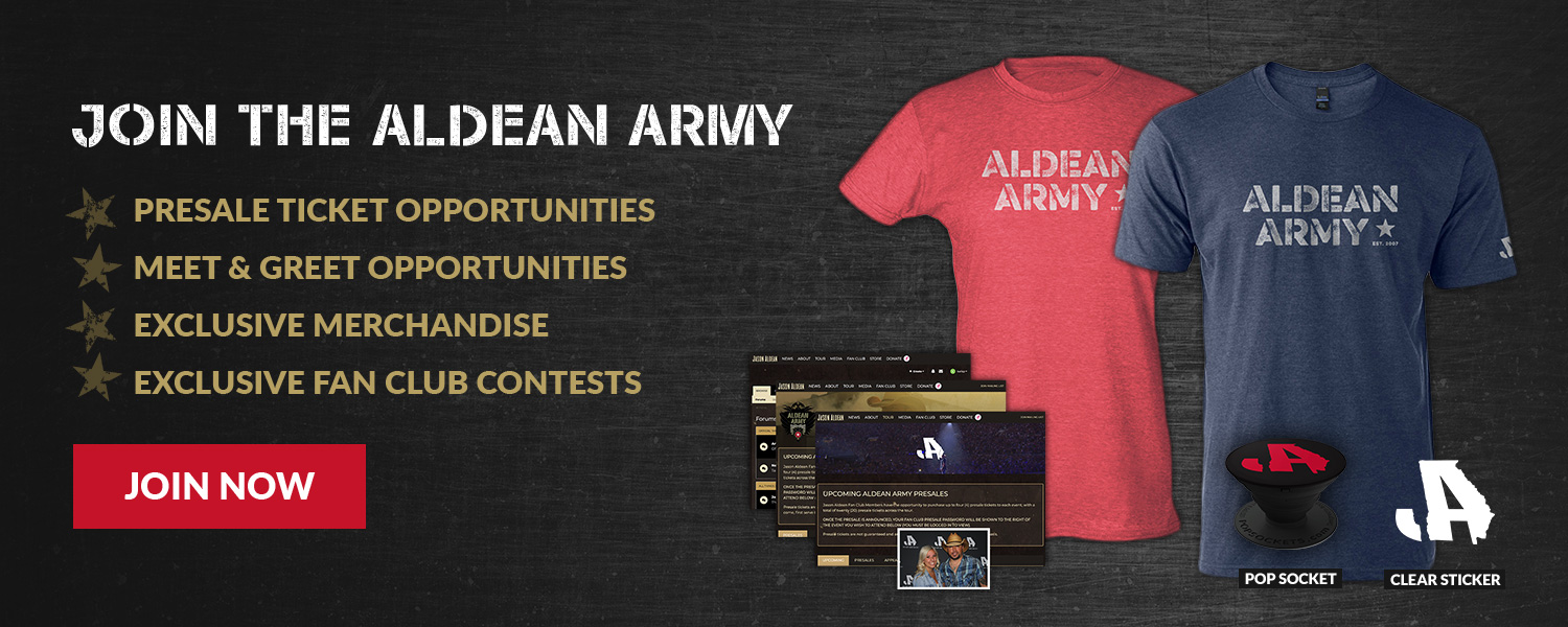 Join the Aldean Army