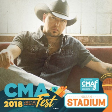 JASON TO PERFORM AT CMA FEST JUNE 7TH