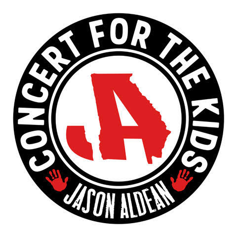 "JASON ALDEAN TO PLAY ""CONCERT FOR THE KIDS"" IN MACON, GA ON SEPTEMBER 6TH"