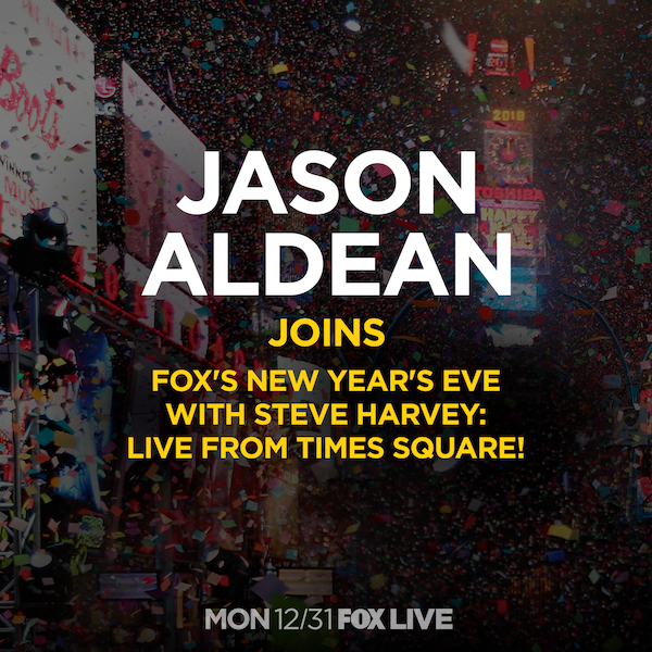 JASON TO PERFORM ON FOX'S NEW YEARS EVE
