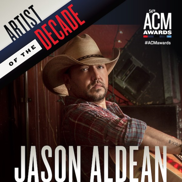 JASON ALDEAN TO RECEIVE THE ACM DICK CLARK ARTIST OF THE DECADE AWARD