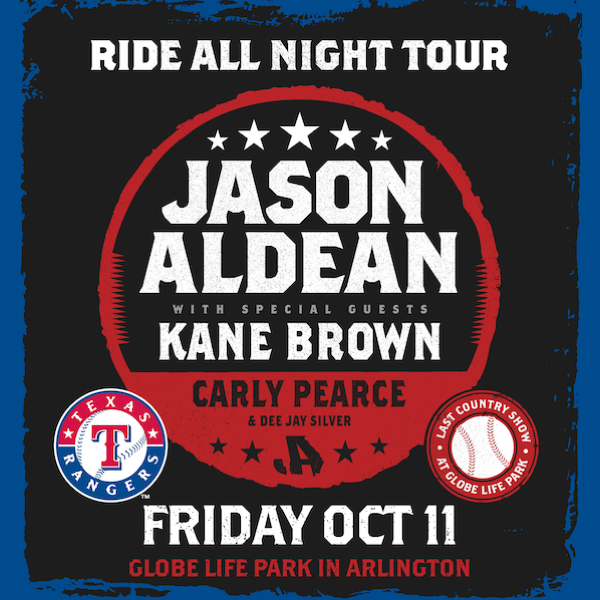 JASON ANNOUNCES GLOBE LIFE PARK STADIUM SHOW