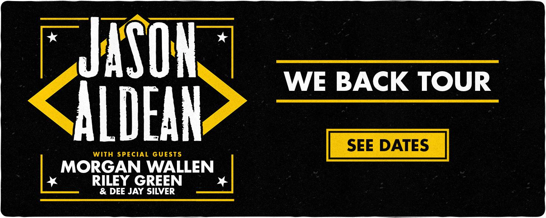 We Back Tour banner