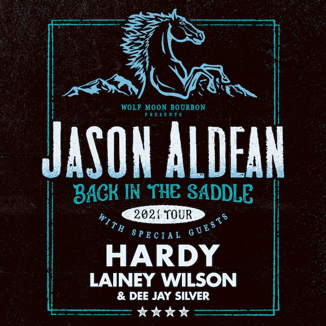 <em>BACK IN THE SADDLE TOUR 2021</em> TO LAUNCH THIS AUGUST