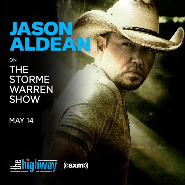 TUNE IN TO HEAR JASON ON SIRIUSXM THE HIGHWAY ON MAY 14