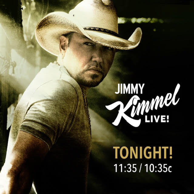 TUNE IN TONIGHT TO SEE JASON PERFORM ON <em>JIMMY KIMMEL LIVE!</em>