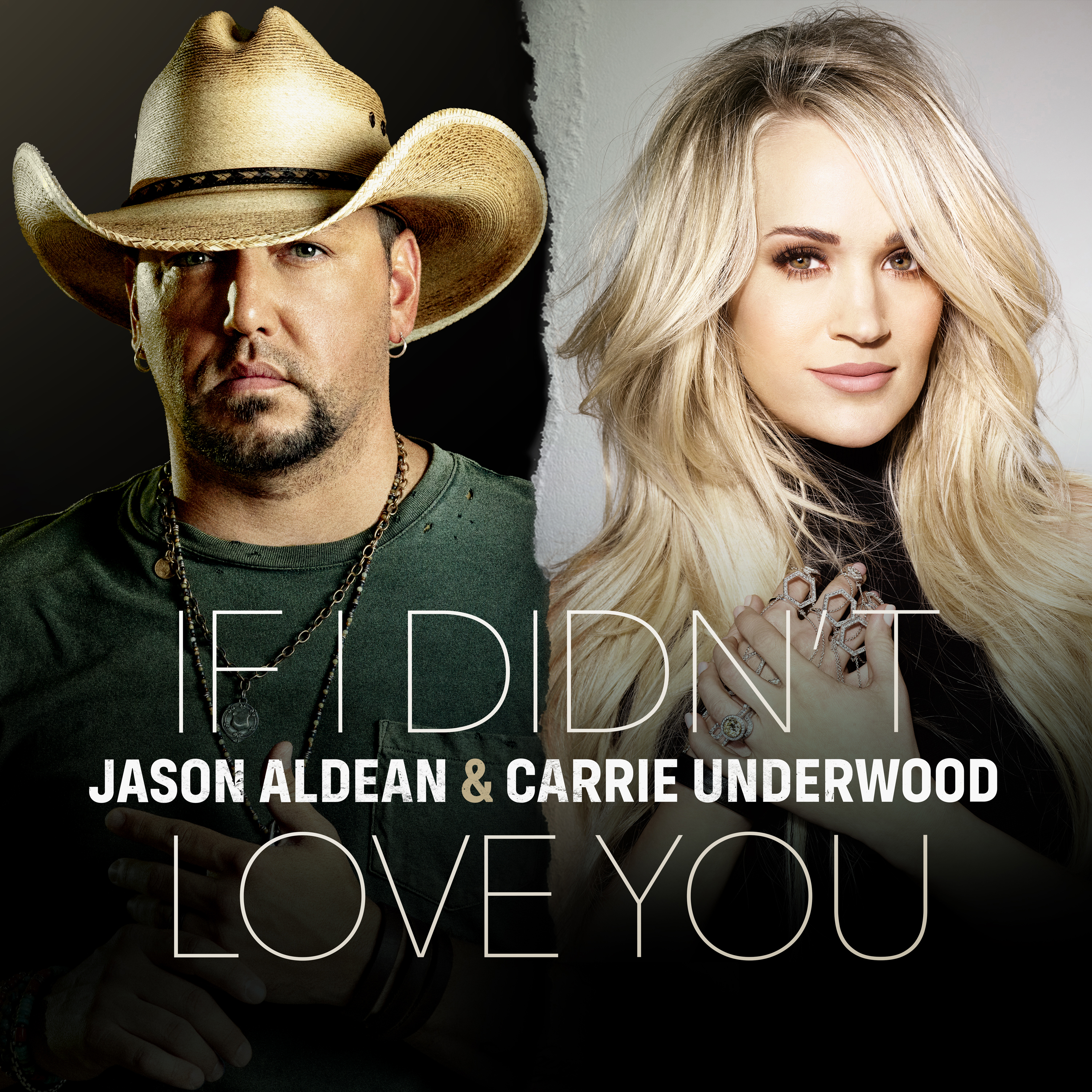 """LISTEN TO JASON ALDEAN'S NEW SINGLE WITH CARRIE UNDERWOOD, """"IF I DIDN'T LOVE YOU"""""""
