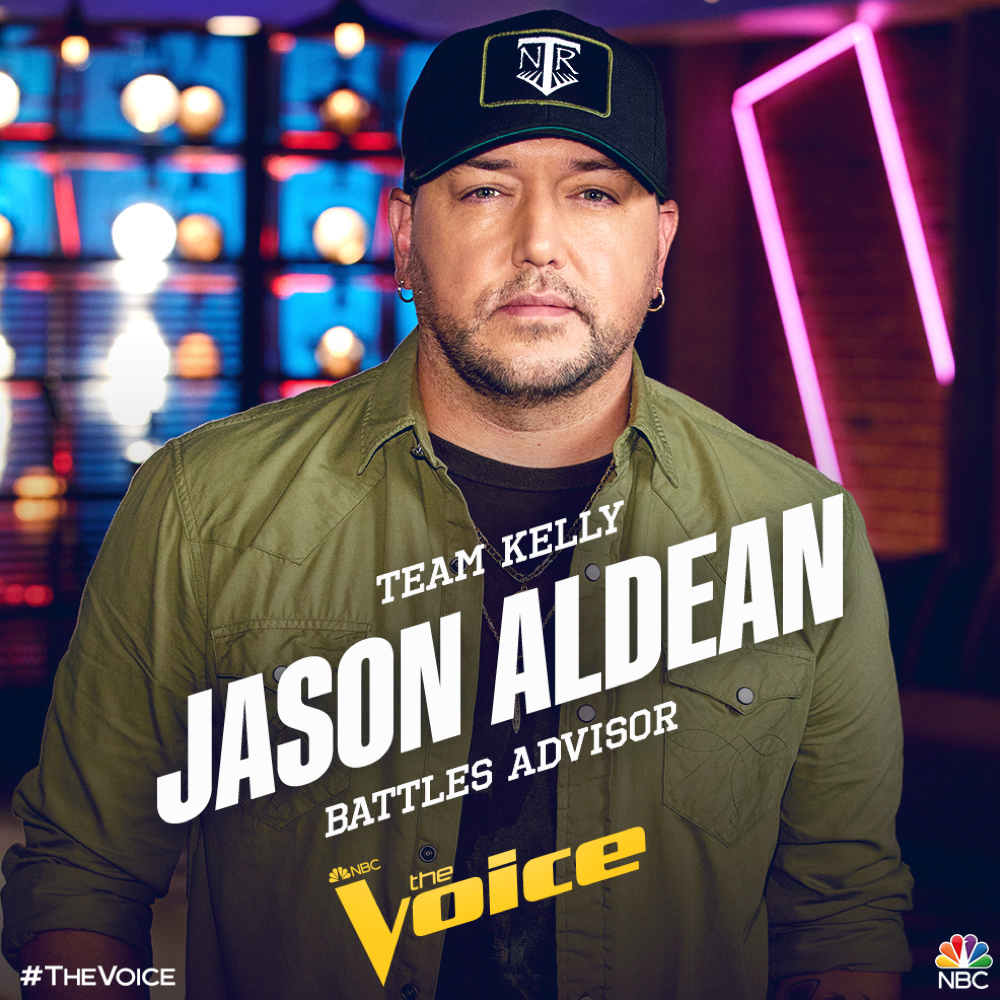 TUNE IN TONIGHT TO SEE JASON ON THE VOICE