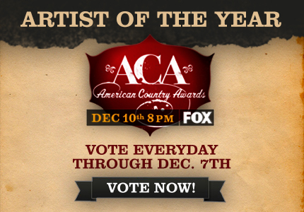 VOTE YOUR FAVORITE FOR THE ACA ARTIST OF THE YEAR