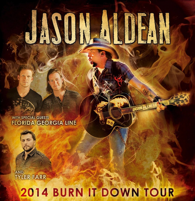 Jason Aldean Burnin It Down Tour