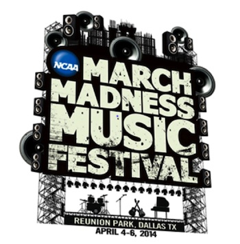 Jason Aldean to Headline the 2014 NCAA March Madness Music Festival