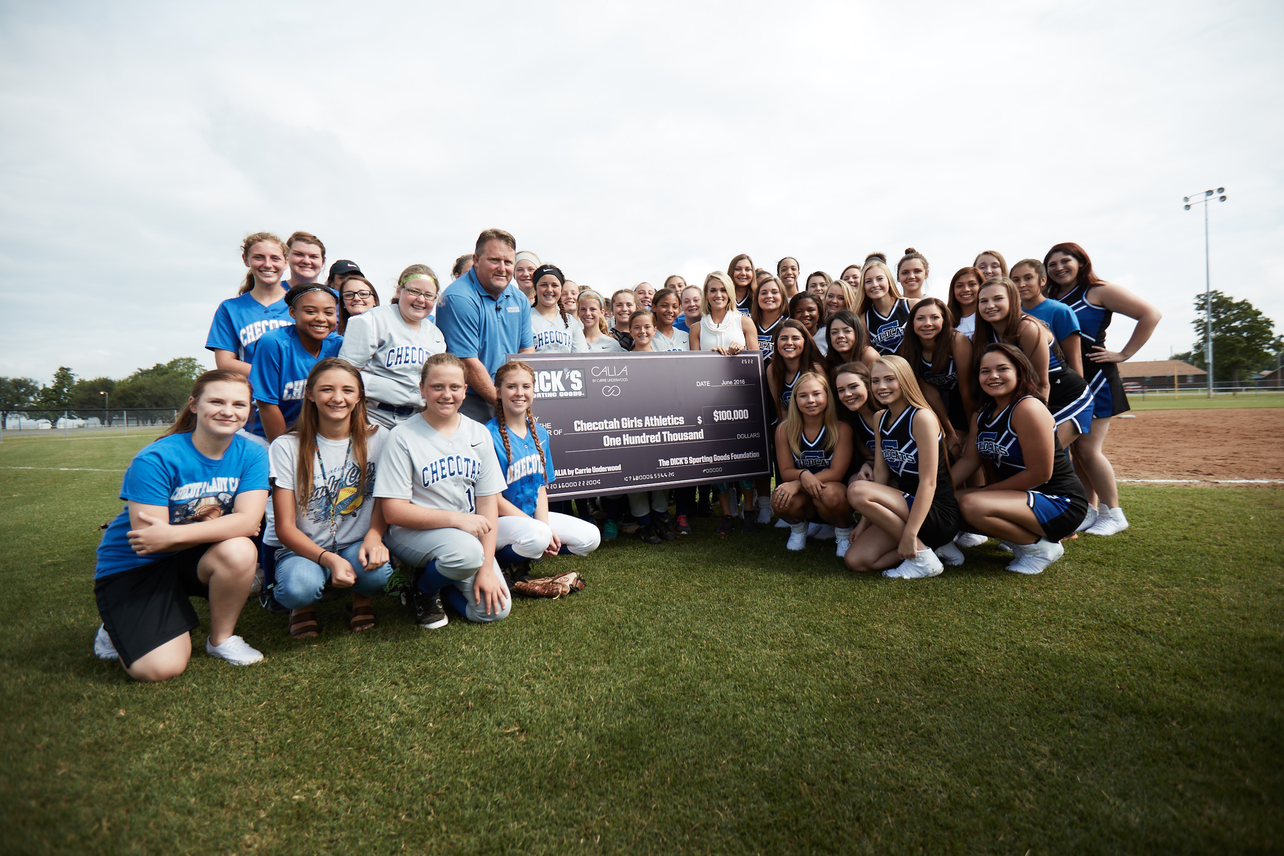 CALIA by Carrie Underwood in Partnership with the Dick's Sporting Goods Foundation to Donate $500,000 in Sports Matter Grants to Girls Youth Sports Teams Across the Country