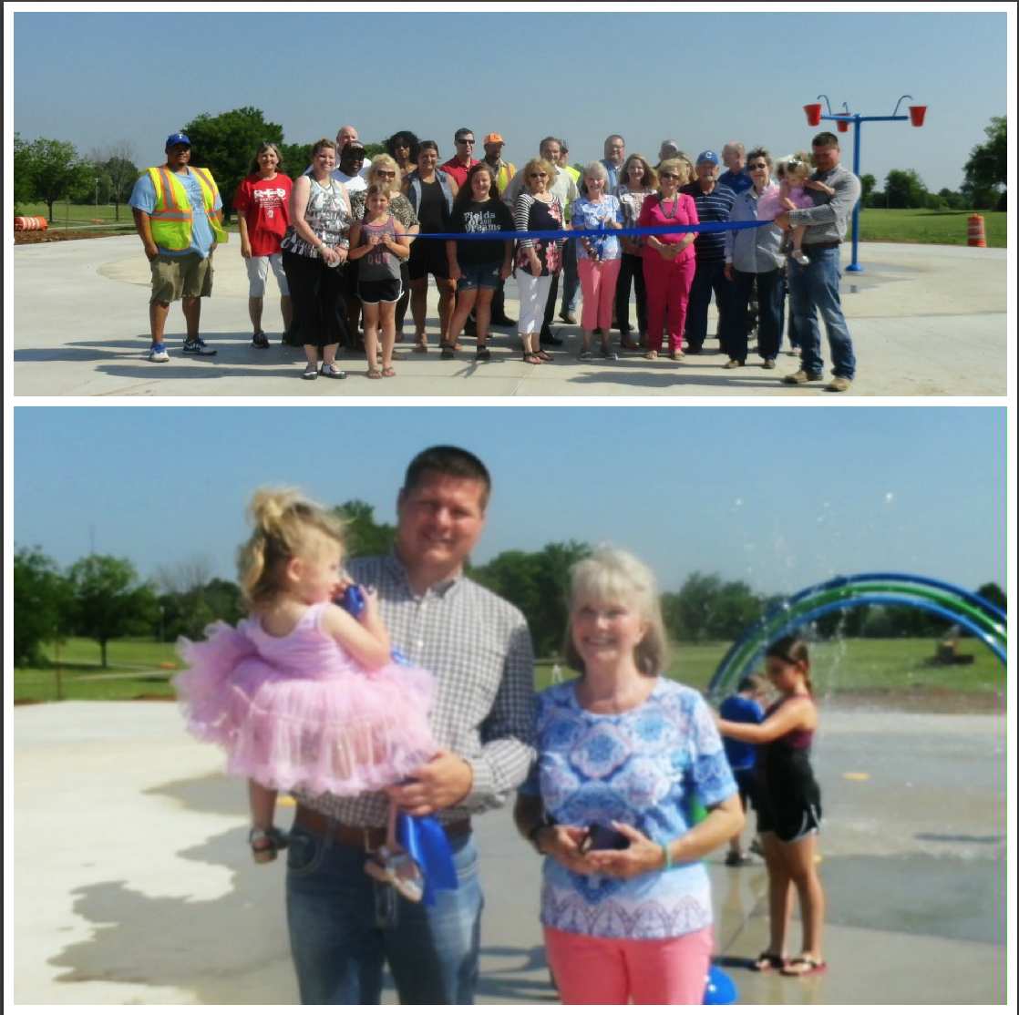 collage splash pad
