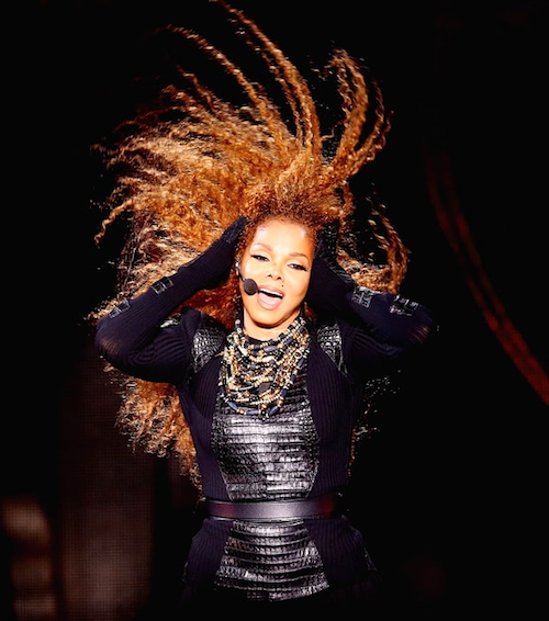 Janet Jackson performs after the Dubai World Cup at the Meydan Racecourse on March 26, 2016. Francois Nel/Getty Images
