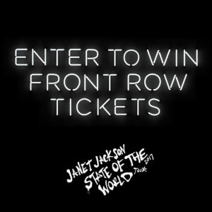 Enter to win front row tickets