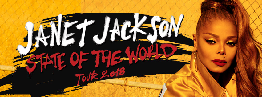 Janet Jackson State of the World 2018