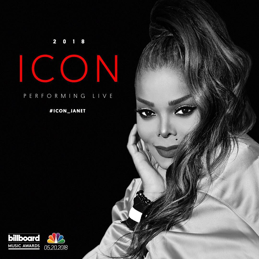Janet Jackson Icon Award