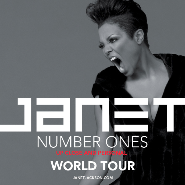 JANET Number Ones, Up Close and Personal Tour
