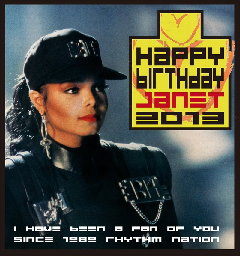 JANET's Birthday Wishes