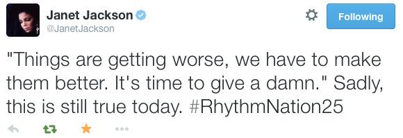 #RhythmNation25 - Fans Celebrate