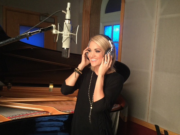 "Carrie Underwood recorded a new opening theme song ""Oh, Sunday Night"" for NBC's Sunday Night Football"