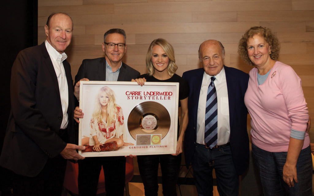 Carrie Underwood Becomes The Highest Certified Country Album Artist