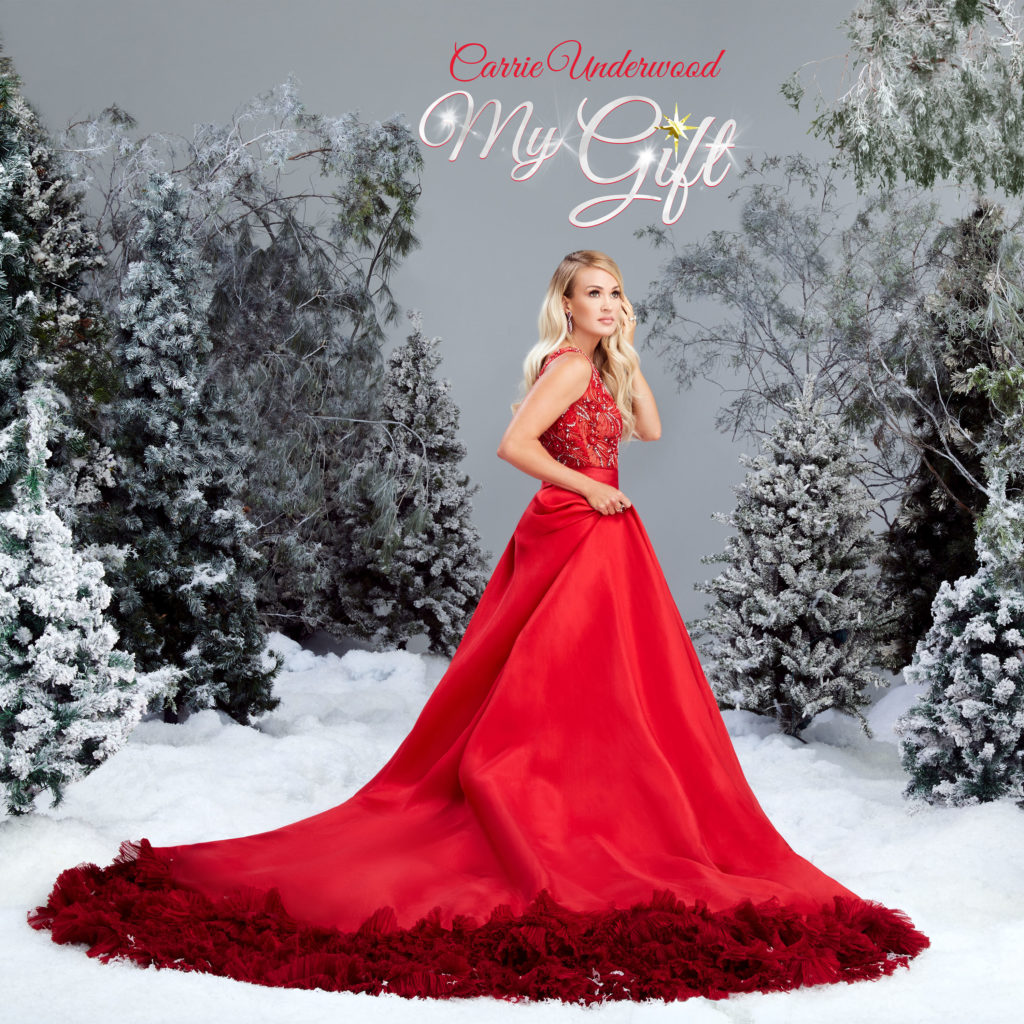 Carrie Underwood My Gift Album Cover[1][5]